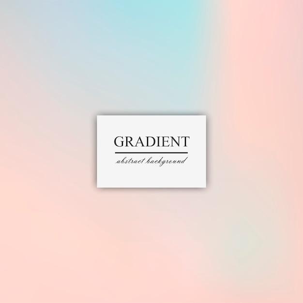 Sfuocatura astratta del gradiente delicato del vettore di sfondo Vettore gratuito