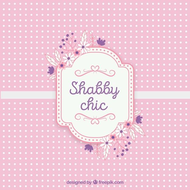 Estremamente Shabby chic carta testo | Scaricare vettori gratis RQ25