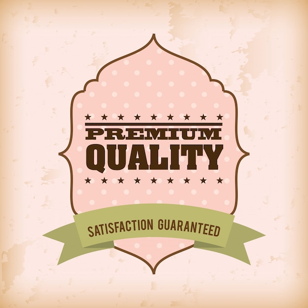 Shopping design su sfondo rosa illustrazione vettoriale Vettore Premium