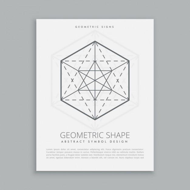 Simbolo geometrico sacro Vettore gratuito