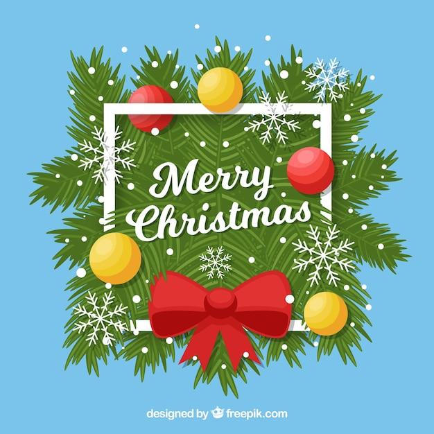 Sfondi Gratis Natalizi.Simpatici Sfondi Decorativi Di Buon Natale Scaricare Vettori Gratis