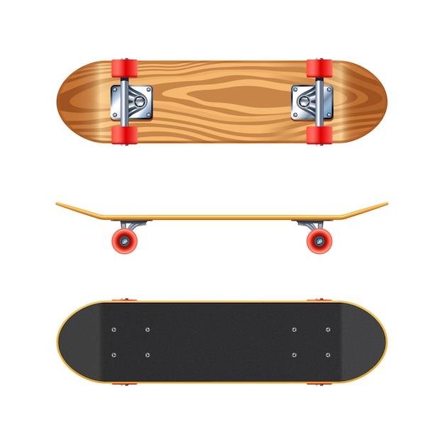 Skateboard Vettore gratuito