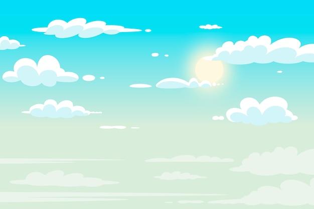 Sky - sfondo per le videoconferenze Vettore gratuito