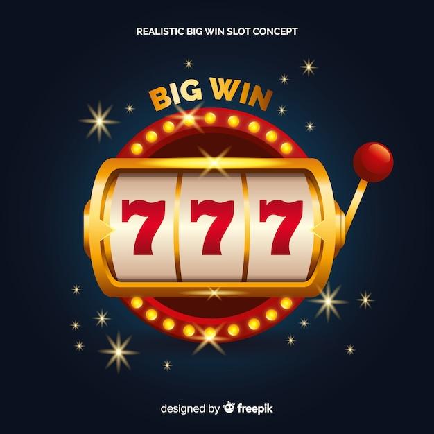 Slot machine real win big Vettore gratuito