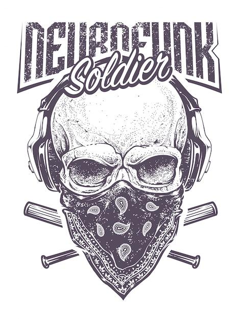 Soldato di Neurofunk Vettore gratuito