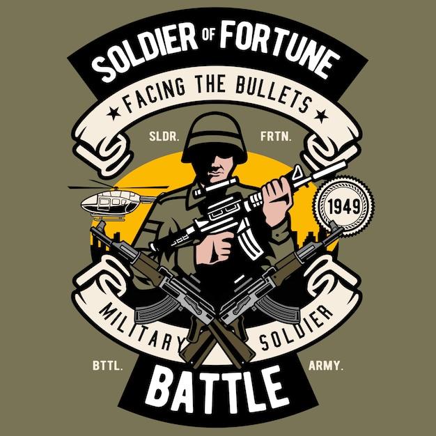 Soldato Vettore Premium