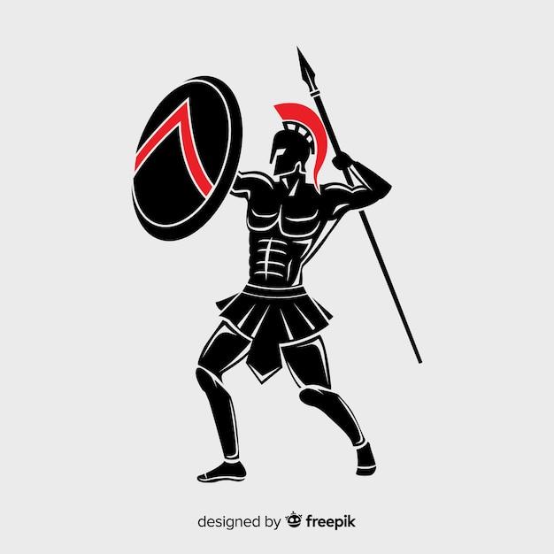 Spartano Vettore gratuito