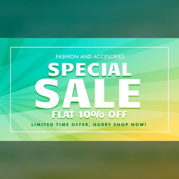 Speciale modello di offerta di vendita per la promozione di marketing Vettore gratuito