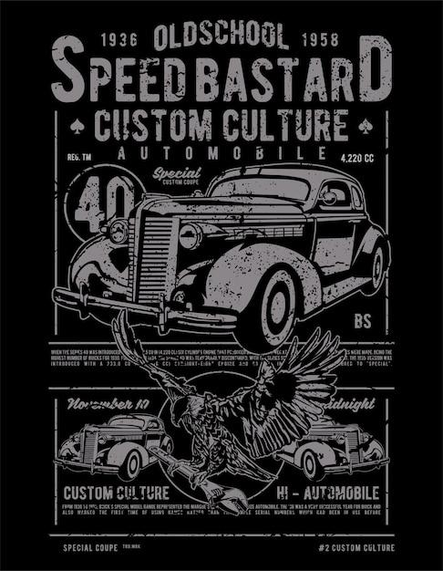 Speed bastard Vettore Premium