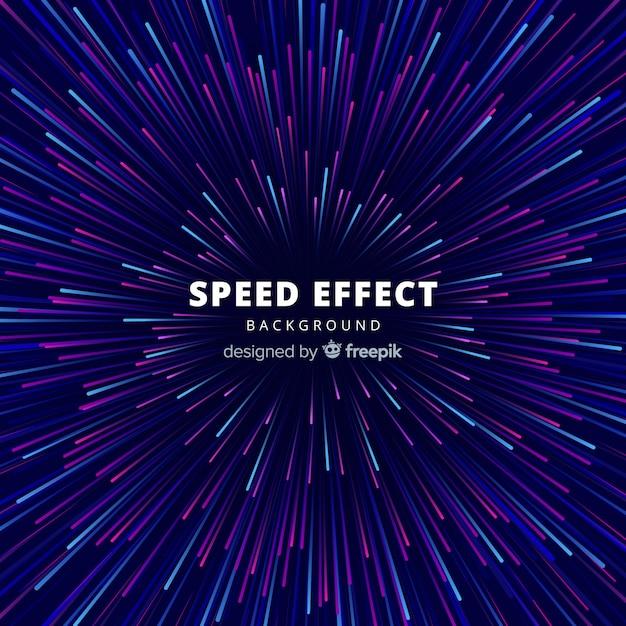 Speed effectbackgound Vettore gratuito