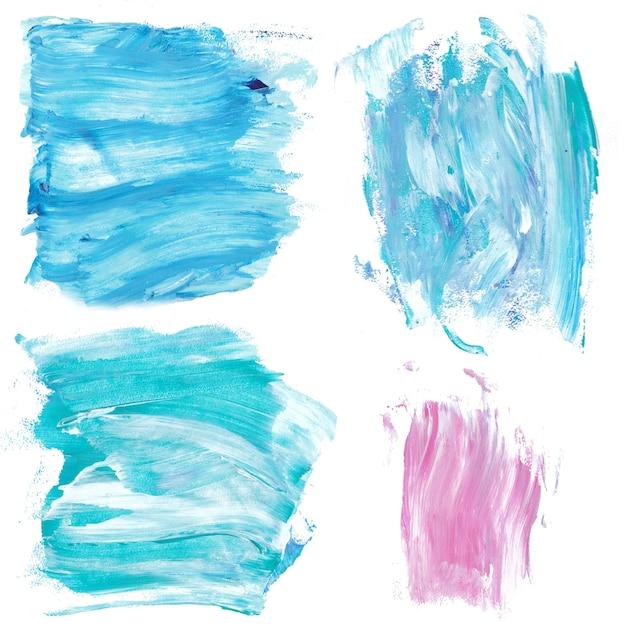 Spruzzi Di Vernice Di Marmo Blu E Rosa Texture Di Sfondo In Marmo