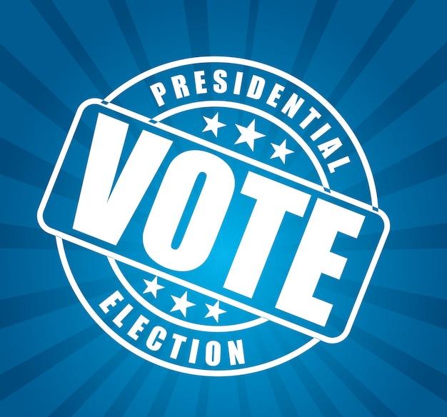 Stagione delle elezioni Vettore Premium