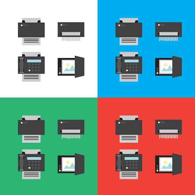 Stampare Vettore Premium