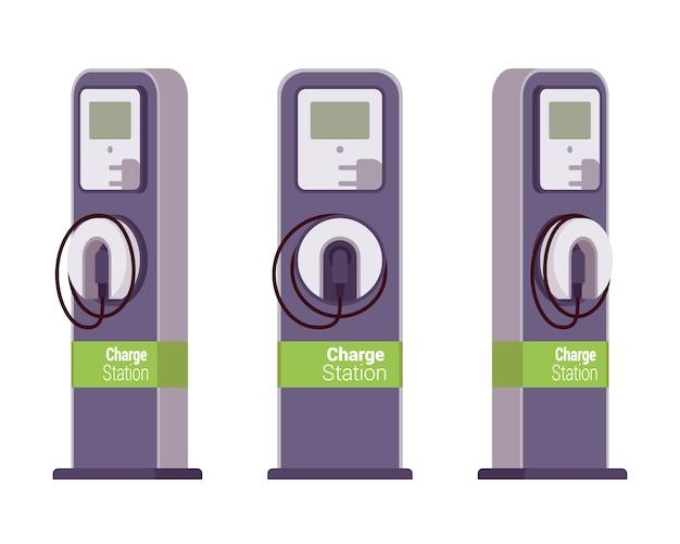 Stazione di ricarica elettrica vechle Vettore Premium