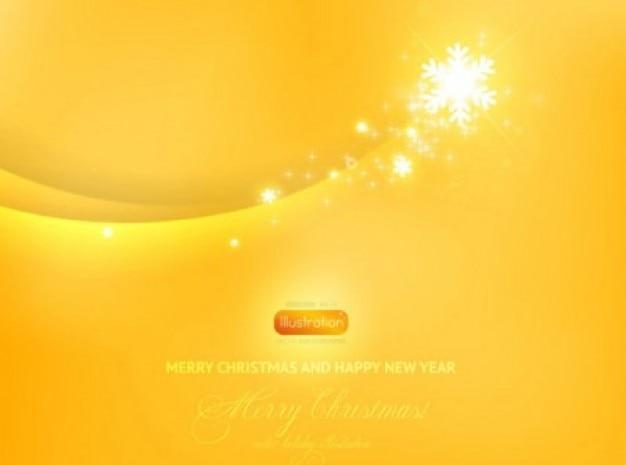 Stella su sfondo giallo Vettore gratuito