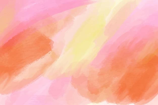 Stile acquerello sfondo dipinto Vettore gratuito