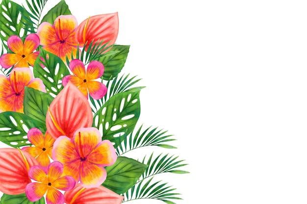 Stile artistico sfondo acquerello Vettore gratuito