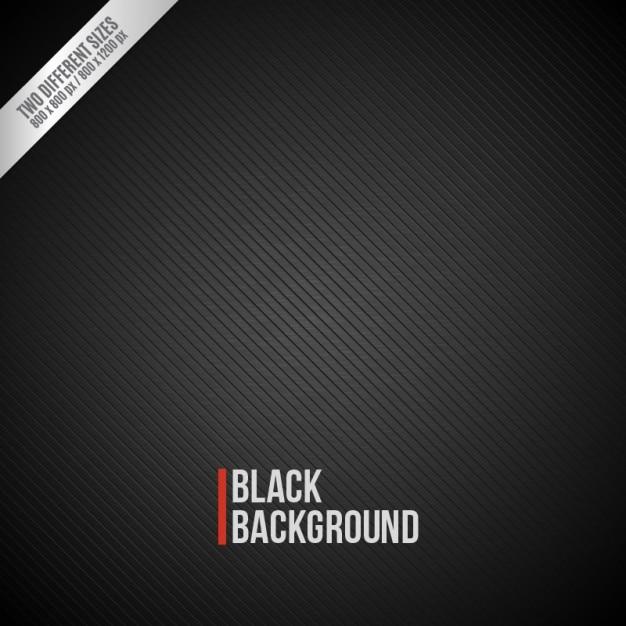 Striped sfondo nero Vettore gratuito