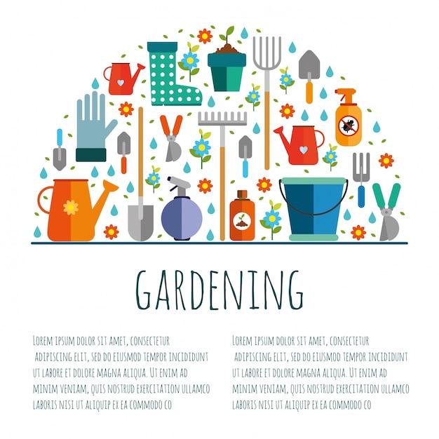 Strumenti per il giardinaggio, Vettore gratuito