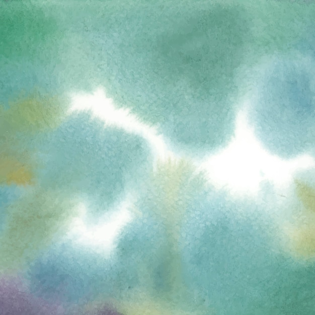 Struttura astratta della macchia dell'acquerello verde Vettore gratuito