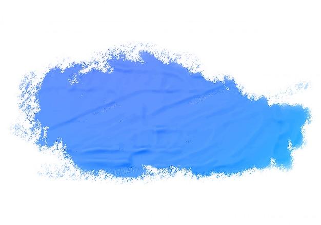 Struttura astratta della pittura blu dell'acquerello Vettore gratuito