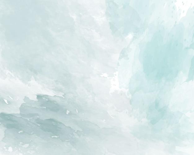 Struttura blu dell'acquerello morbido astratto. Vettore Premium