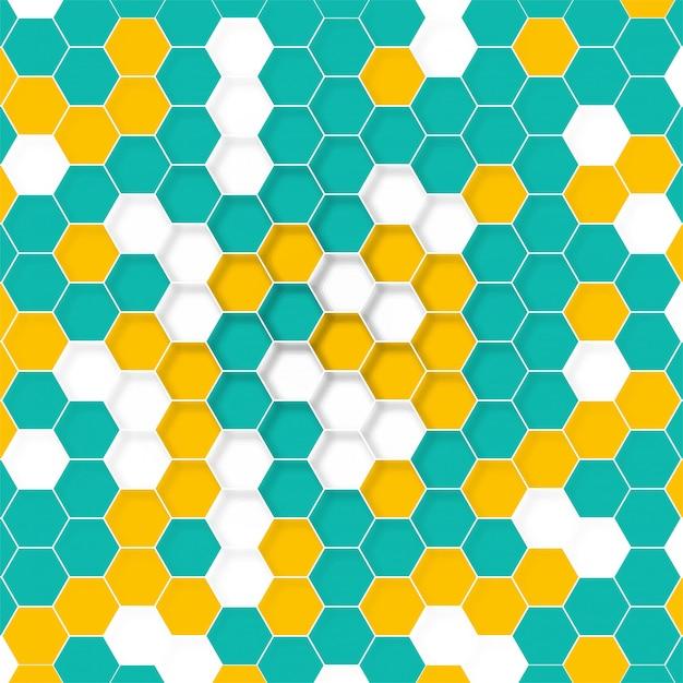Struttura molecolare tecnologia astratta Vettore gratuito