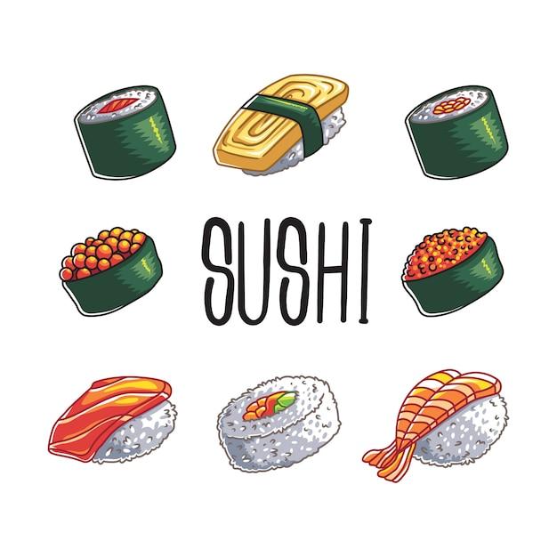 Sushi Vettore Premium