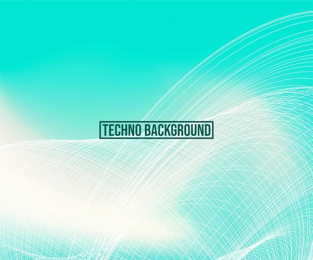 Tecnologia astratto Vettore Premium
