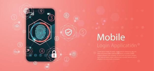 . tecnologia concettuale digitale astratta. Vettore Premium