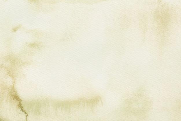 Tela di fondo dell'acquerello marrone chiaro Vettore gratuito