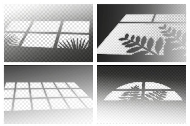 Tema di ombre trasparenti con effetto ovelay Vettore gratuito