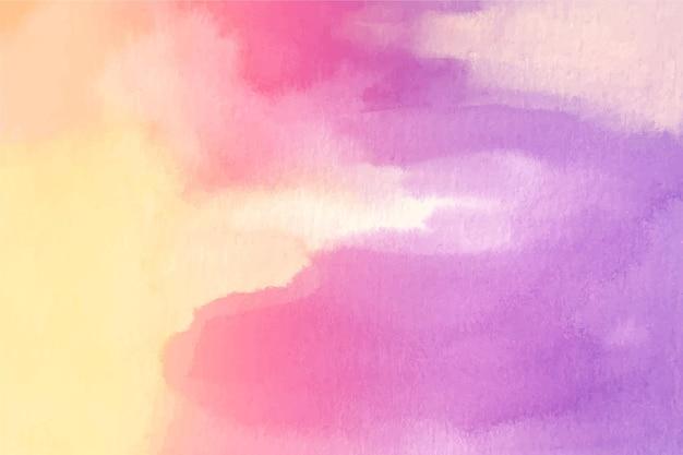 Tema di sfondo pastello dell'acquerello Vettore gratuito