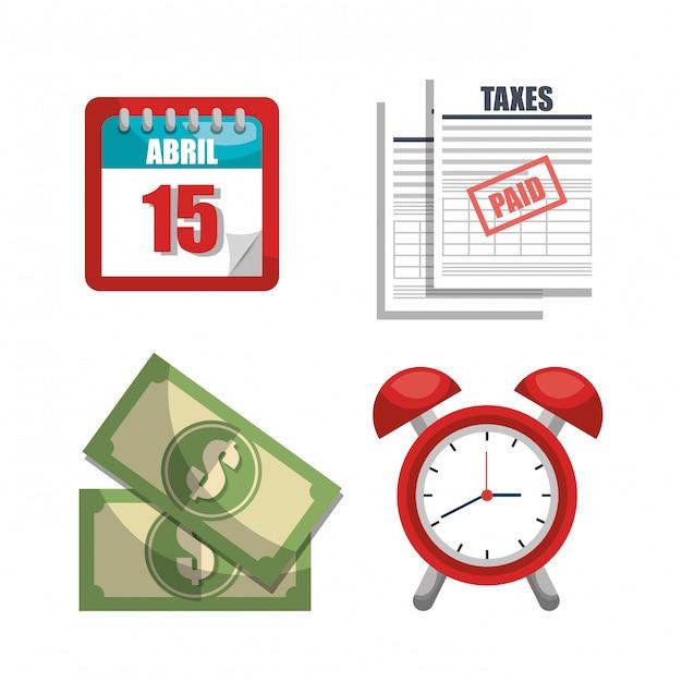 Tempo di imposta Vettore gratuito