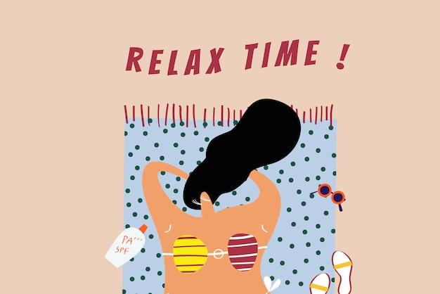 Tempo di rilassarsi Vettore gratuito