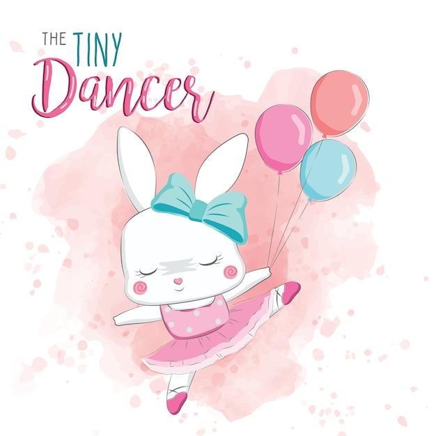 The tiny dancer Vettore Premium