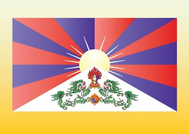 Tibet bandiera scaricare vettori gratis for Cabine del fiume bandera