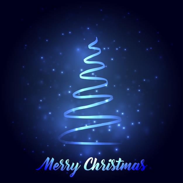 Cartoline Di Auguri Di Natale.Tipografia Della Cartolina D Auguri Di Natale Con L Albero Di Natale