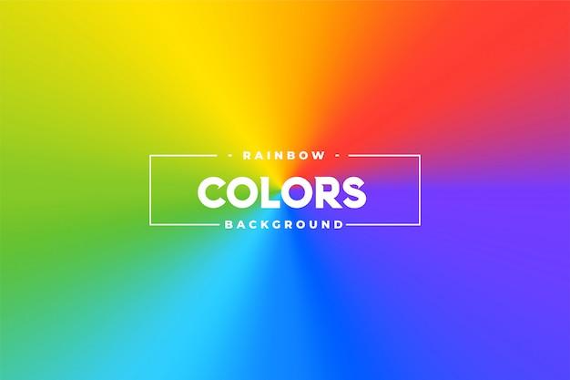 Tonalità di colore conico colorato vibrante sfondo Vettore gratuito