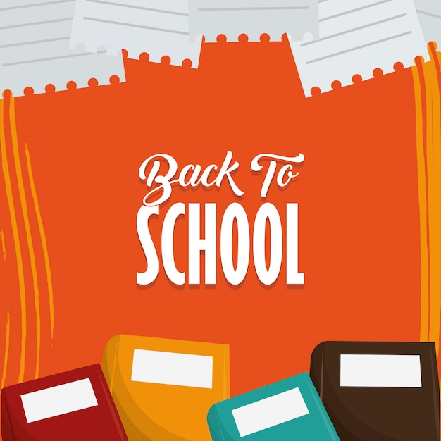 Torna alla carta stagione della scuola Vettore gratuito