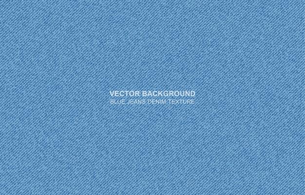 Trama di jeans blu jeans Vettore Premium