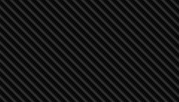 Trama di modello in fibra di carbonio nero Vettore gratuito