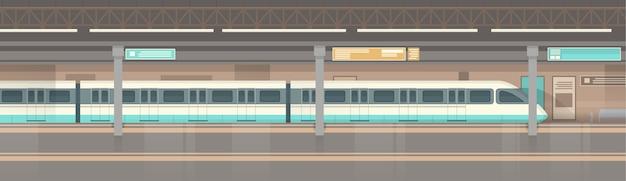 Trasporto pubblico metropolitano della metropolitana Vettore Premium