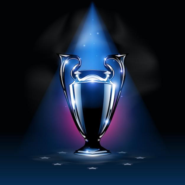 Trofeo dei campioni Vettore Premium