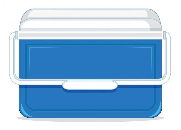 Un contenitore per il ghiaccio Vettore gratuito