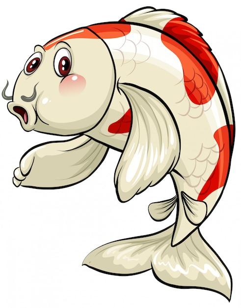 Un grande pesce Vettore gratuito