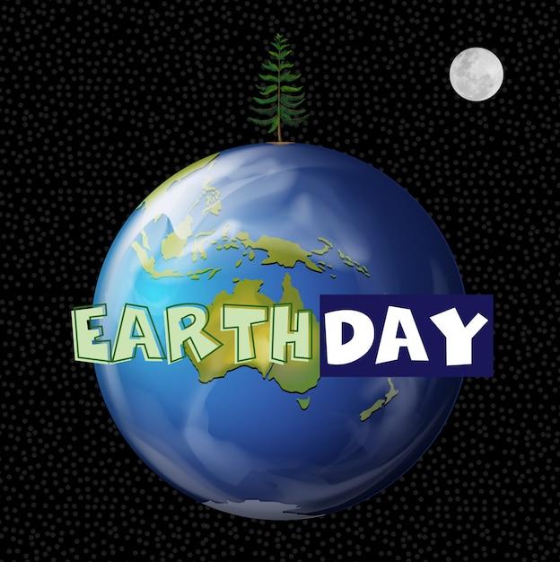 Un'illustrazione del giorno della terra Vettore gratuito
