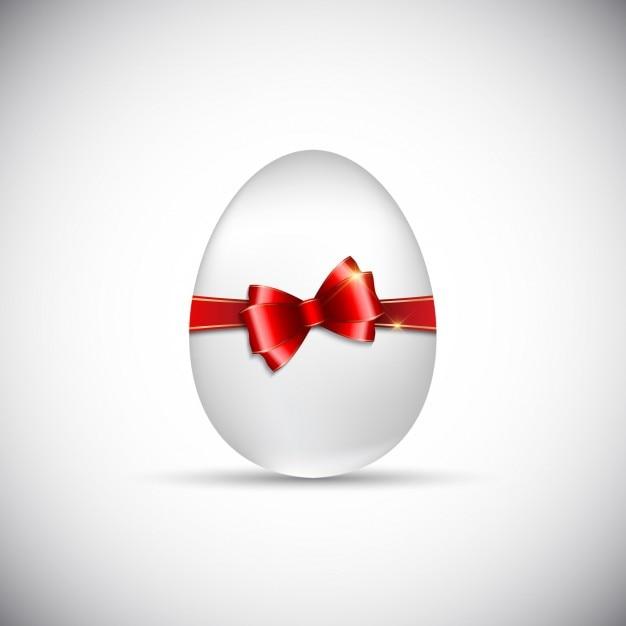 Uovo di pasqua con il nastro scaricare vettori gratis - Modello di uovo stampabile gratuito ...