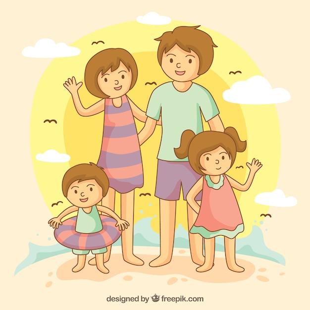 Vacanze in famiglia scaricare vettori gratis for Vacanze in famiglia
