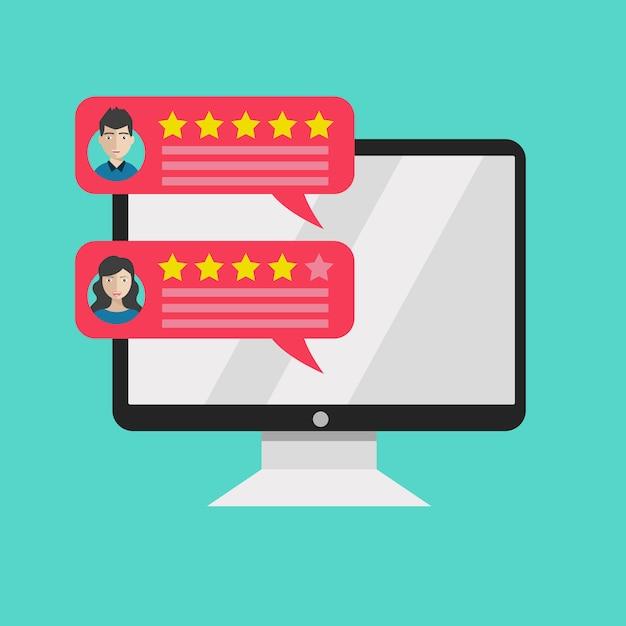 Valutazione sul servizio clienti Vettore Premium